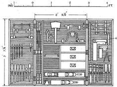 The Ideal Tool Cabinet – Lost Art Press Tool Box Diy, Wood Tool Box, Wooden Tool Boxes, Wood Tools, Woodworking Tool Cabinet, Woodworking Hand Tools, Woodworking Tools, Diy Wooden Projects, Carpentry Projects