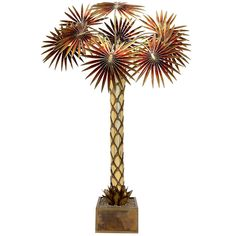 Maison Jansen Palm Tree Floor Lamp | From a unique collection of antique and modern floor lamps  at http://www.1stdibs.com/furniture/lighting/floor-lamps/