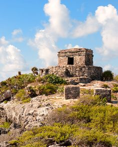 Scale the cliffs of #Tulum and see ancient #Mayan ruins. There's nothing like them.
