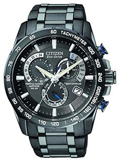 Citizen Men's Eco-Drive Chronograph Watch AT4007-54E with a Black Dial and a Black Stainless Steel Bracelet Citizen http://www.amazon.co.uk/dp/B005XT69G2/ref=cm_sw_r_pi_dp_CyMYvb1M646VS
