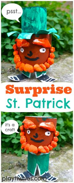 Surprise St Patricks Day Craft » Playtivities