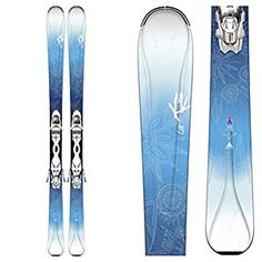 Amazon.com : K2 Luv 75 Womens Skis with Marker ERP 10 Bindings 2016 : Sports & Outdoors