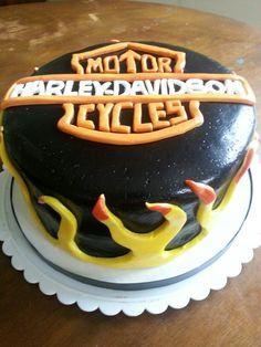 Harley davidson cake♡