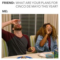"""Married At First Sight on Instagram: """"At least we have an excuse to drink this time. 😂 #CincoDeMayo"""""""