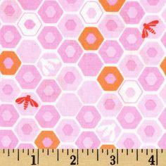 Moda Honey Honey Apiary Blush $7.82/y