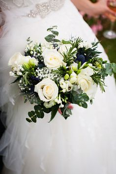 Wedding bouquet- White flowers mix- bridal bouquet