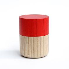 SojitutuS赤筒小栓(縦木取り)ウレタン塗装φ62×h68