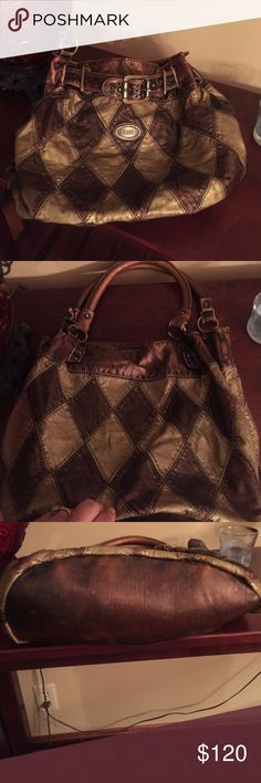 D&G Purse Browns & Bronze Purse in very good used condition. If you have any questions or requests for additional information please ask!! Dolce & Gabbana Bags Shoulder Bags