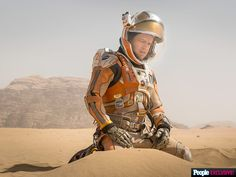"""Matt Damon is lost in space in Ridley Scott's upcoming film """"The Martian"""" based on the novel by Andy Weir"""