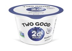You can have delicious blueberry flavored lowfat yogurt that contains of total sugar per serving with Two Good™ Blueberry Greek lowfat Yogurt. Low Sugar Yogurt, Best Greek Yogurt, Greek Style Yogurt, Diabetic Snacks, Diabetic Recipes, Keto Recipes, Healthy Recipes, Gram Of Sugar, Yogurt