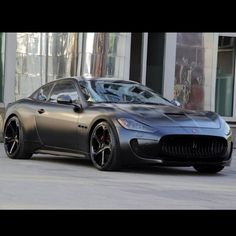 Cool Blacked Out Maserati