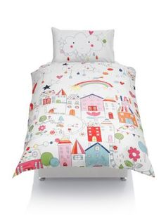 Rainbow Road Print Bedding Set with StayNEW™