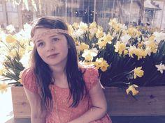 Mini Beige Chiffon Flower Headband by MaddiandAddiBowtique on Etsy https://www.etsy.com/listing/227081172/mini-beige-chiffon-flower-headband