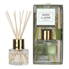 Bamboo & Jasmine 12-pc. Reed Diffuser Set