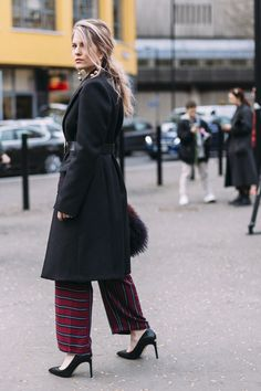 London Fashion Week Fall 2017 Street Style Day 3 - The Impression