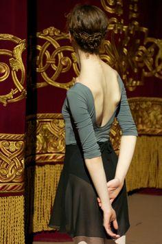 Joy Womack of the Bolshoi Ballet