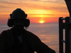 A seafarer's sunset.