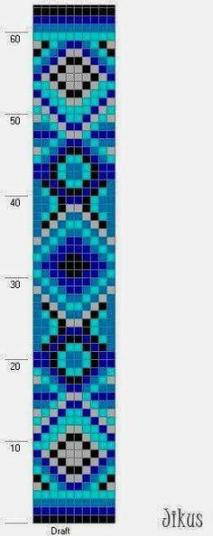 Beading pattern - Square 10-stitch