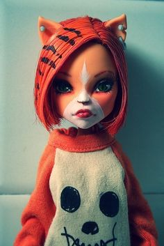 Monster High Doll OOAK Toralei Stripe Wave 1 RARE Beauty | eBay