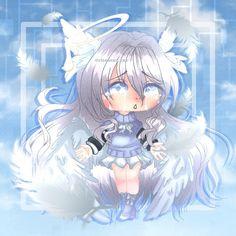 """Heaven Has Fallen From Grace"" Cute Anime Chibi, Kawaii Chibi, Kawaii Anime, Pretty Art, Cute Art, Cute Girl Drawing, Arte Sketchbook, Cute Profile Pictures, Cute Kawaii Drawings"