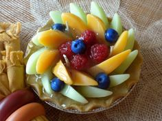 Summer fruit pie candle!