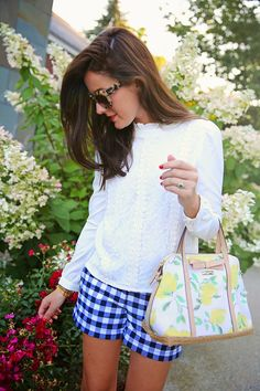 Gingham, Floral, & Lace