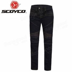 Motorcycle Jeans Racing Pants Riding Protective Pants with Protective Pads For Scoyco P043 Sale - Banggood.com