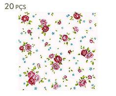 Guardanapo floral (rosalie union ambiente - 33 x 33 cm)