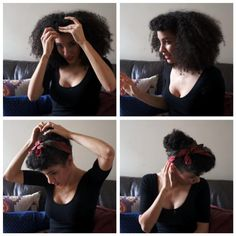 """""""The Modern Day Pin Up"""" Hair Style Tutorial, National Hair"""