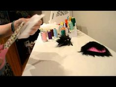 ▶ How to Make No-Sew Hair Clip Cat Ears - YouTube