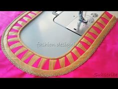 Lets learn how to stitch a very simple back neck design of a blouse. You all can try stitching the back blouse design by watching this video simultaneously. Brocade Blouse Designs, Kids Blouse Designs, Saree Blouse Neck Designs, Simple Blouse Designs, Stylish Blouse Design, Dress Neck Designs, Kurti Neck Designs, Sleeve Designs, Cv Fashion Designer