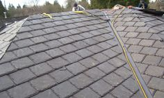 Grey Euroslate Roof Tiles From Euroshield Made From