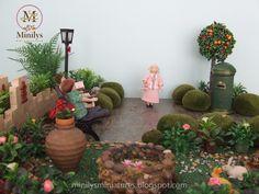 Minilys Miniatures. Miniature park 1:12