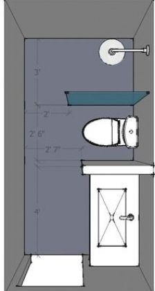 Bathroom Layout Plans, Small Bathroom Layout, New Bathroom Designs, Bathroom Design Layout, Bathroom Interior Design, Layout Design, Small Bathrooms, Bathroom Ideas, Bathroom Remodeling