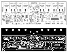Click he image to open in full size. Hifi Amplifier, Class D Amplifier, Hobby Electronics, Electronics Projects, Electrical Circuit Diagram, Circuit Board Design, Dc Circuit, Electronic Schematics, Mosquitoes