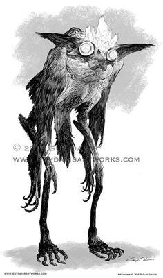 Guy Davis does my favorite Goetic demon!
