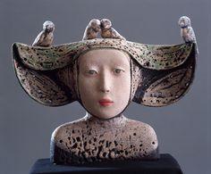 ☥ Figurative Ceramic Sculpture ☥   Camille VandenBerge