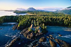 See why luxury hotel Wickaninnish Inn on Vancouver Island was voted resort in Canada by Travel + Leisure readers. One reason: thrilling storm-watching. Bora Bora, Vacation Ideas, Honeymoon Ideas, Vacation Spots, Tofino Bc, Beaches In The World, Vancouver Island, Vancouver Travel, Canada Travel