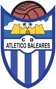 Atletico Baleares Football Team Logos, Football Soccer, Soccer World, Balearic Islands, Club, Badge, Spain, Patches, Football Squads