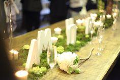 Décoration green pour votre mariage