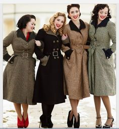 when you fine your friends love vintage styles too