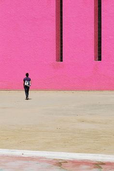 Cuadra San Cristobal, Mexico City, Mexico, 1968. Luis Barragan