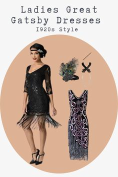 Flapper, Great Gatsby Style, Roaring 20s and many more! We have the best 1920s Ladies dresses & outfits- click here to see them all. Gatsby Dress Plus Size, Great Gatsby Dresses, Great Gatsby Fashion, Flapper Girl Costumes, Flapper Shoes, Gatsby Costume, Gatsby Girl, Gatsby Style, Gatsby Themed Party
