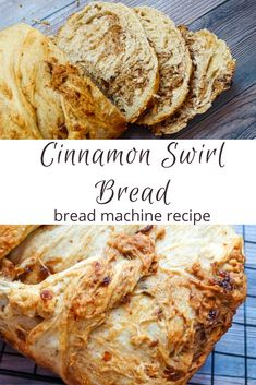 Bread machine Cinnamon Swirl Bread recipe could not be easier! Throw all your ingredients in the bread machine and let it knead, rise, and bake! Easy Bread Machine Recipes, Best Bread Machine, Bread Maker Machine, Bread Maker Recipes, Cinnamon Bread Recipe For Bread Machine, Bread Baking, Breadmaker Bread Recipes, Bread Machines, Cinnamon Roll Bread