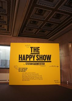 The Happy Show at Chicago's Cultural Center