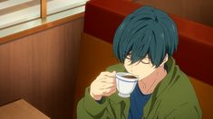 Ikuya: *sips tea* But that's none of my business Free Eternal Summer, Free Iwatobi Swim Club, Free Anime, Kaneki, Manga, Art Pictures, Cute Boys, Anime Guys, Anime Art
