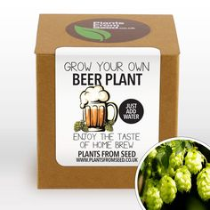 Beer Hops, Fast Growing Plants, Grow Kit, Plant Markers, How To Make Beer, Taste Of Home, Grow Your Own, Home Brewing, Christmas Sale