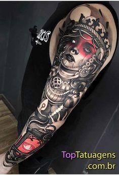 90 Big Tattoos For Men - Giant Ink Design Ideas Trendy Tattoos, Small Tattoos, Tattoos For Guys, Tattoos For Women, Cool Tattoos, Flower Tattoos, Neotraditionelles Tattoo, Tattoo Video, Back Tattoo
