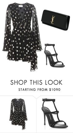"""Untitled #1056"" by danielleam ❤ liked on Polyvore featuring Yves Saint Laurent"