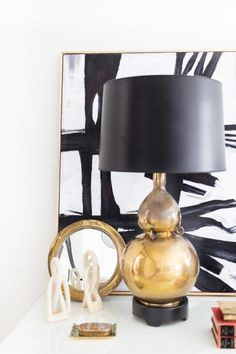 Gorgeous gold: http://www.stylemepretty.com/living/2015/02/26/51-reasons-black-and-white-is-having-a-moment/